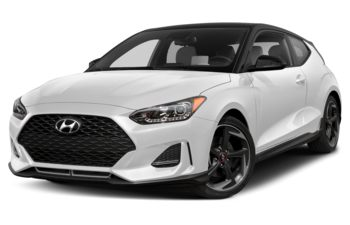 2020 Hyundai Veloster - Chalk White w/Phantom Black Roof
