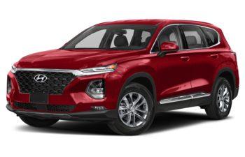 2019 Hyundai Santa Fe - Scarlet Red