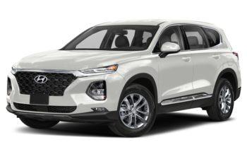 2019 Hyundai Santa Fe - Quartz White