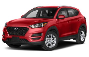2021 Hyundai Tucson - Crimson Red