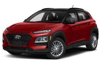 2021 Hyundai Kona - Pulse Red w/Phantom Black Roof
