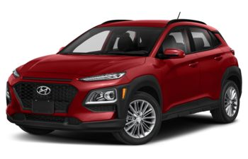 2020 Hyundai Kona - Pulse Red