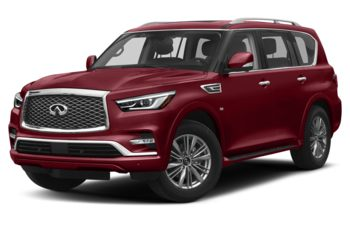 2020 Infiniti QX80 - Coulis Red Pearl