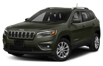 2021 Jeep Cherokee - Olive Green Pearl