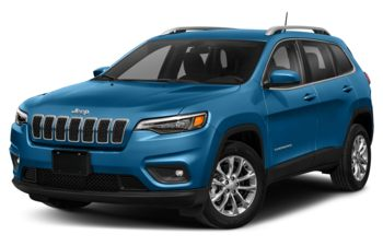 2021 Jeep Cherokee - Hydro Blue Pearl