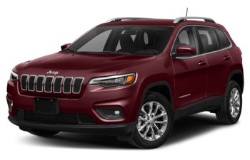 2021 Jeep Cherokee - Velvet Red Pearl