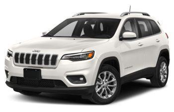 2019 Jeep Cherokee - Pearl White