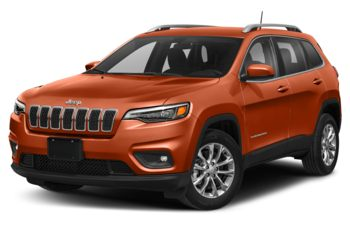 2021 Jeep Cherokee - Spitfire Orange