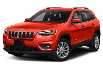 2021 Jeep Cherokee - Spitfire Orange