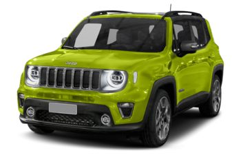 2019 Jeep Renegade - Hypergreen
