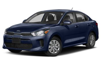 2020 Kia Rio - Hyper Blue