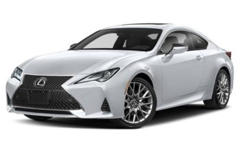 2021 Lexus RC 350 - Ultra White