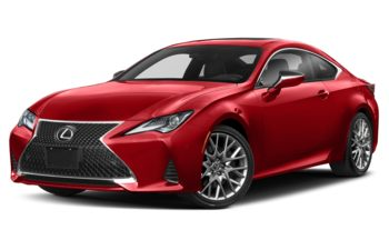 2020 Lexus RC 350 - Infrared