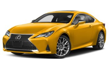 2020 Lexus RC 350 - Flare Yellow