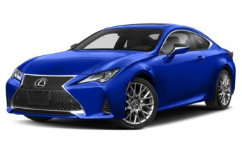 2021 Lexus RC 350 - Ultrasonic Blue Mica 2.0