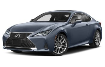 2021 Lexus RC 350 - Cloudburst Grey