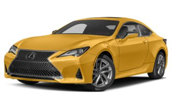 2019 Lexus RC 300 - Flare Yellow