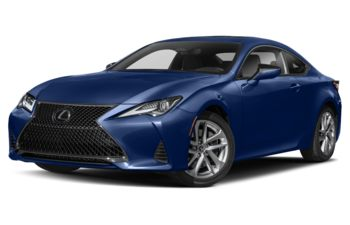 2020 Lexus RC 300 - Blue Vortex Metallic