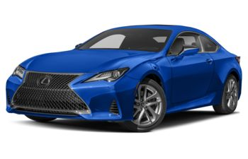 2019 Lexus RC 300 - Blue Vortex Metallic