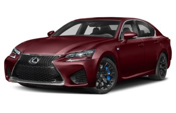 2019 Lexus GS F - Matador Red Mica