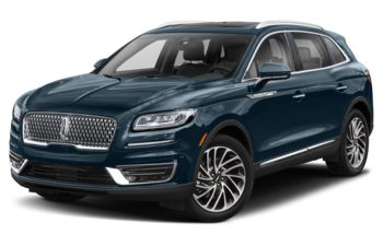 2019 Lincoln Nautilus - Blue Diamond Metallic