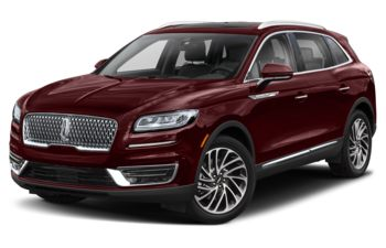 2020 Lincoln Nautilus - Burgundy Velvet Metallic Tinted Clearcoat
