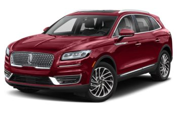 2019 Lincoln Nautilus - Ruby Red Metallic Tinted Clearcoat