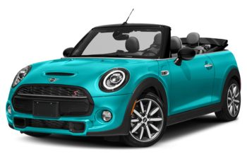 2021 Mini Convertible - Caribbean Aqua Metallic