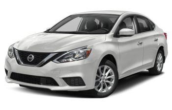 2019 Nissan Sentra - Aspen White Pearl