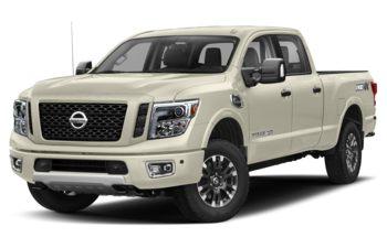 2019 Nissan Titan XD - Pearl White