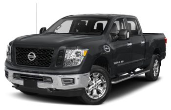 2019 Nissan Titan XD - Magnetic Black Metallic