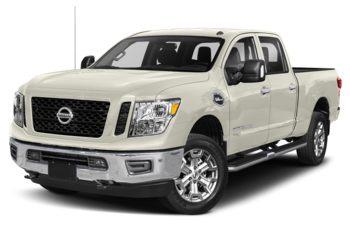 2019 Nissan Titan XD - Glacier White