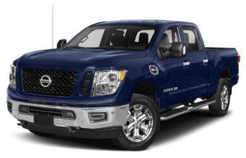 2019 Nissan Titan XD - Deep Blue Pearl