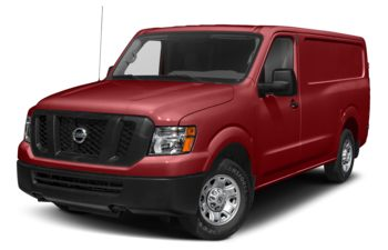 2021 Nissan NV Cargo NV2500 HD - Cayenne Red Metallic