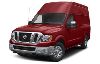 2019 Nissan NV Cargo NV3500 HD - Cayenne Red Metallic