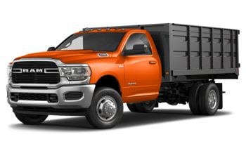 2019 RAM 3500 Chassis - Omaha Orange