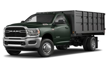 2019 RAM 3500 Chassis - Black Forest Green Pearl