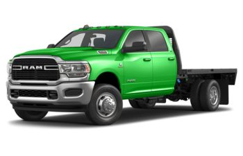 2019 RAM 3500 Chassis Cab 4491 kg (9900 lb) GVWR - Green Angel