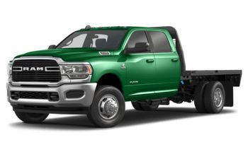 2019 RAM 3500 Chassis Cab 4491 kg (9900 lb) GVWR - Bright Green