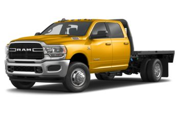 2019 RAM 3500 Chassis Cab 4491 kg (9900 lb) GVWR - Construction Yellow