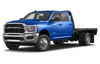 2019 RAM 3500 Chassis Cab 4491 kg (9900 lb) GVWR - New Holland Blue