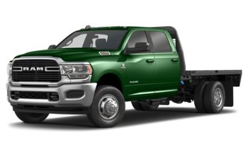 2019 RAM 3500 Chassis Cab 4491 kg (9900 lb) GVWR - Tree Green