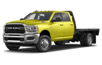 2019 RAM 3500 Chassis Cab 4491 kg (9900 lb) GVWR - National Safety Yellow