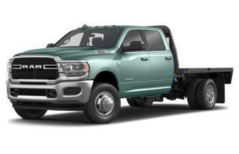 2019 RAM 3500 Chassis Cab 4491 kg (9900 lb) GVWR - Light Green