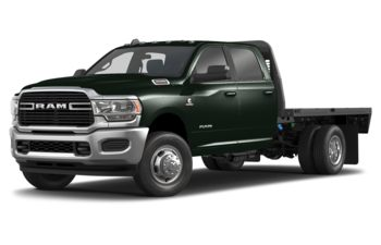 2019 RAM 3500 Chassis Cab 4491 kg (9900 lb) GVWR - Black Forest Green Pearl