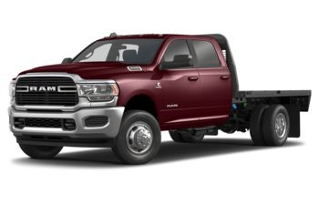 2019 RAM 3500 Chassis Cab 4491 kg (9900 lb) GVWR - Red Pearl