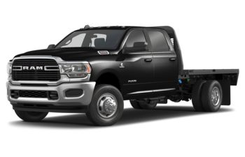 2019 RAM 3500 Chassis Cab 4491 kg (9900 lb) GVWR - Black