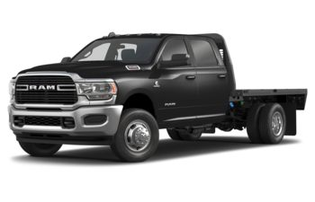 2019 RAM 3500 Chassis Cab 4491 kg (9900 lb) GVWR - Diamond Black Crystal Pearl