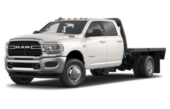 2019 RAM 3500 Chassis Cab 4491 kg (9900 lb) GVWR - Pearl White