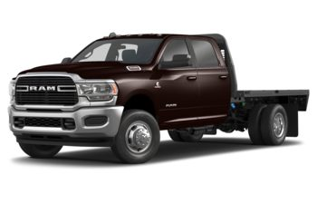2019 RAM 3500 Chassis Cab 4491 kg (9900 lb) GVWR - Dark Brown